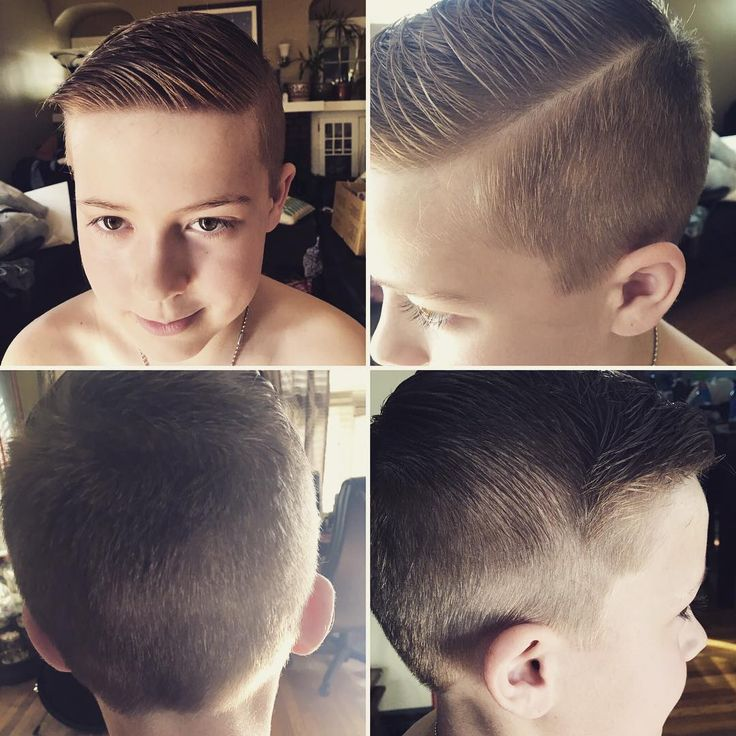 Kids cut! Undercut Fade with hard part and textured top! #hair #haircut #hardpart #hairstylist #hairstyles #cosmetology #texture #fade #fadehaircut #style #cute #beautiful #undercut http://tipsrazzi.com/ipost/1505818046525398450/?code=BTlvYj_hN2y
