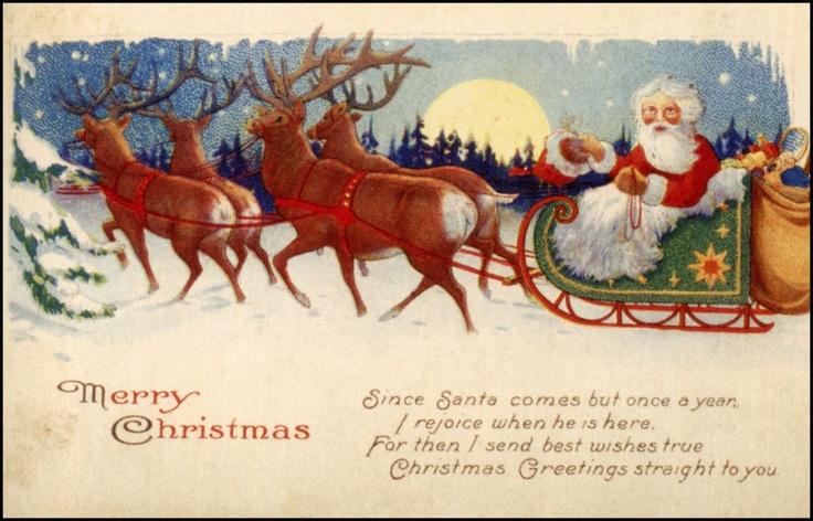 @Pinterest : Christmas Cards, Christmas Postcards, Santa, Mary Engelbreit, Pictorial Art, Kerstvintag Christmas, Christmas Artworks, Christmas Vintage, Kerst Vintage Christmas