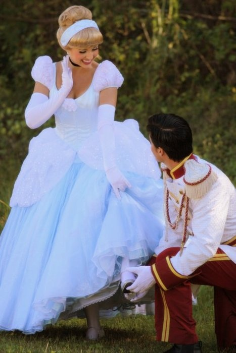 We all want to believe in fairytales! <3