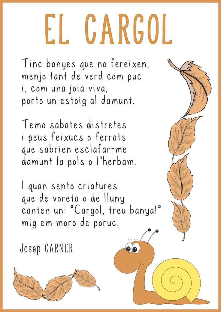 Poema El cargol