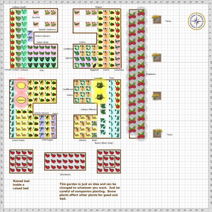garden plan 2017 sarah