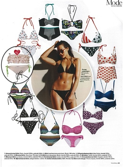 As seen in Vecko Revyn SE - Page 91 - Friis & Company bikini