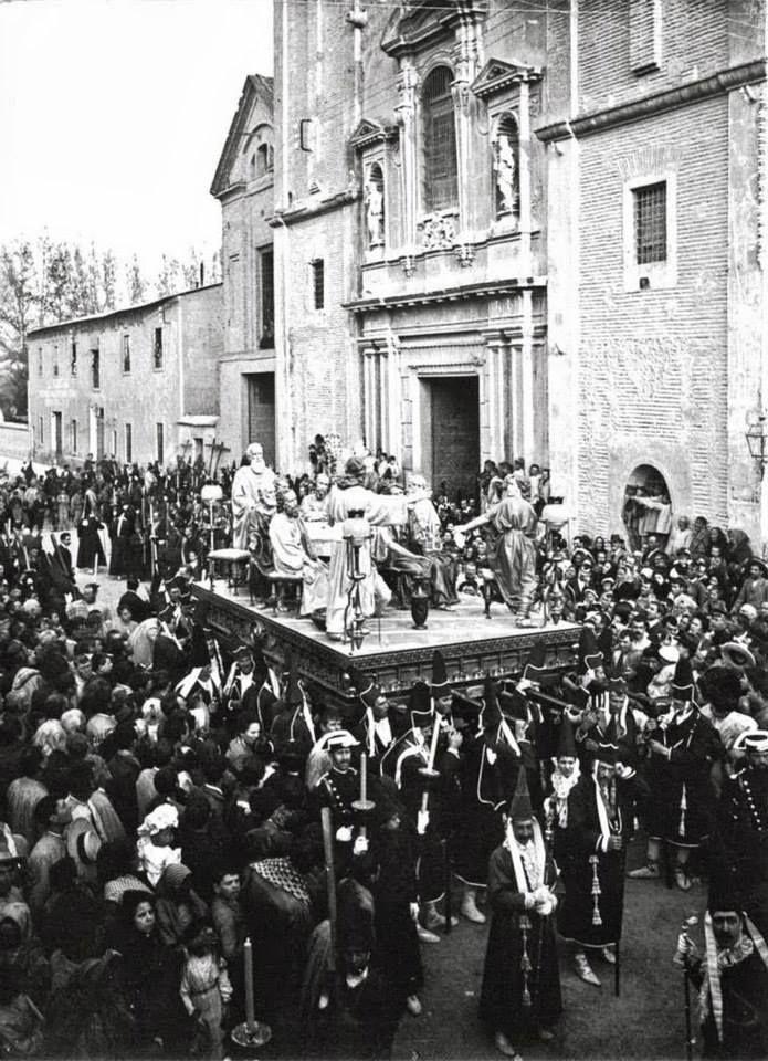 Semana santa Iglesia Carmen Murcia paso de procesion destruido en la guerra civil?