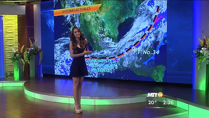 The weather forecast with Yanet Garcia - 28.01.16 ~ Ardan News