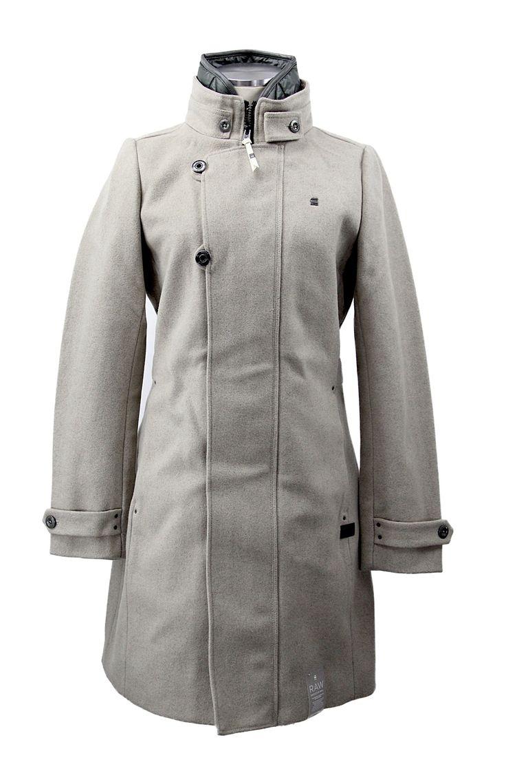 G-STAR RAW Minor Wool Slim Coat