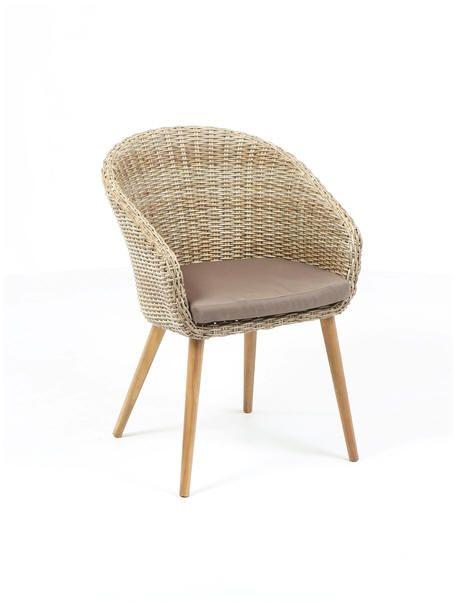 Krzesło ogrodowe TAMARA - eco-rattan