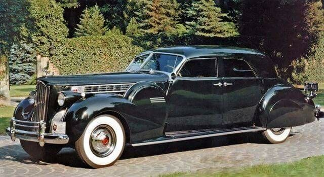 1940 Packard Super 8 180 Sport Sedan by Darrin
