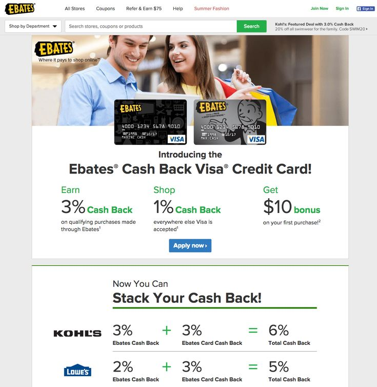 90 best deals coupon codes shopping cash back rebates images on the ebates cash back credit card give you 3 cash credit cardscoupon codes fandeluxe Image collections