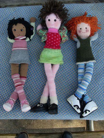 Maggie Bean & Friends - free pattern