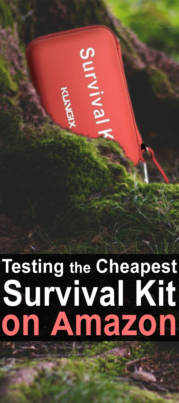 This is part of a series on cheap items from Amazon. In this video, Cody talks about the cheapest survival kit on Amazon: the Kungix Outdoor Survival Kit.