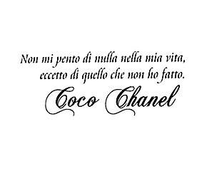 sticker coco chanel - 30x100 cm