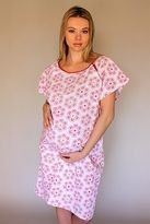 "Angelina Maternity Hospital Gown **SEEN ON ERICA MCGRAW ""The Doctors"""