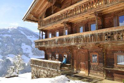 Nachbartal Alpbach - alte Bauernhäuser wohin das Auge reicht @zumsennerzillertal