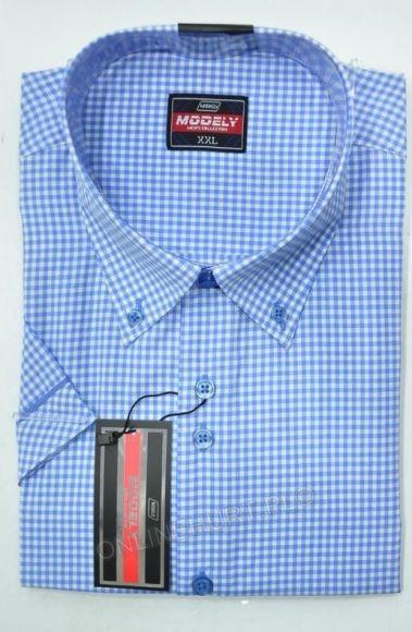 Koszula Męska Modely DH6A-P-CT  Kr. Rękaw (S-2XL)