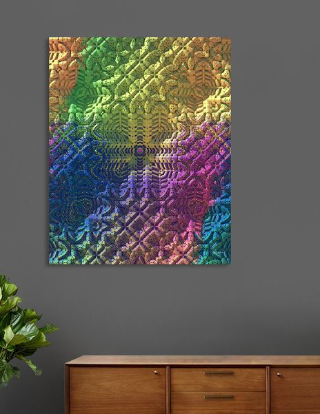 Discover «Textured Ombre», Limited Edition Canvas Print by Lyle Hatch - From $75 - Curioos