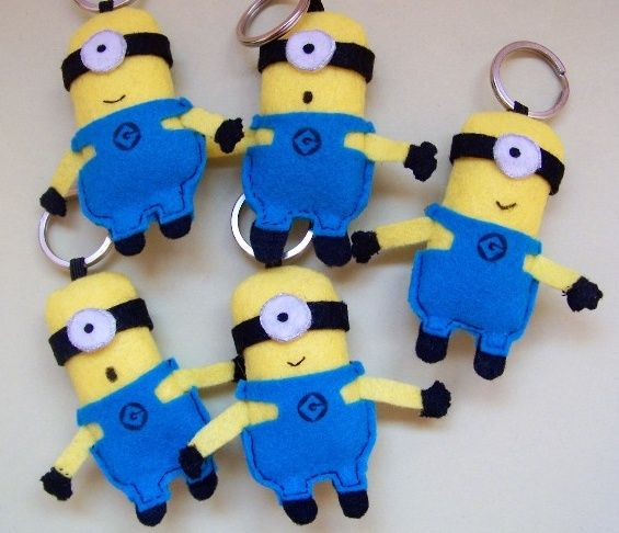felt crafts | minion | Felt Crafts