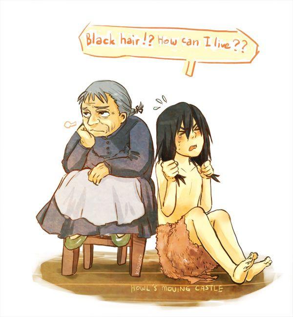 """My hair become black, Sophie"" by Kadeart0.deviantart.com on @deviantART :))))"