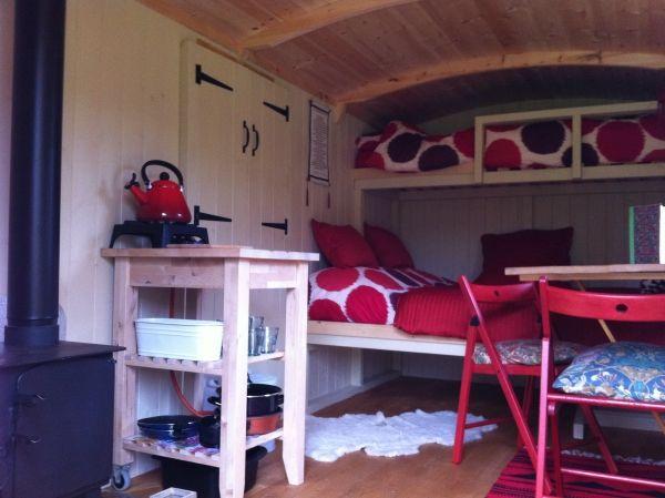 Shepherd Hut Glamping Lake District