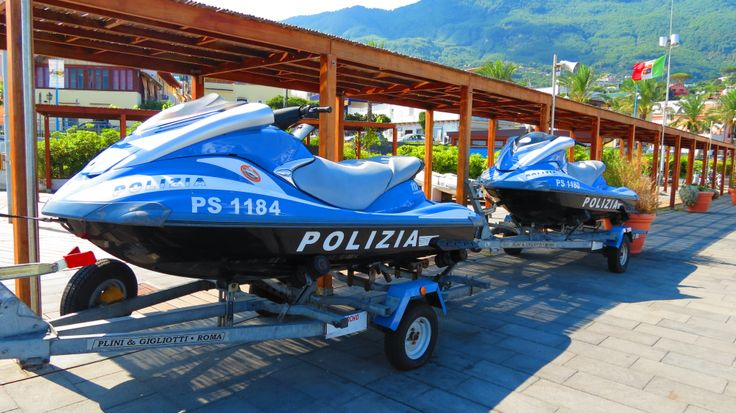Good Morning Ischia! Today's blog is all about police jet-skis in Casamicciola - www.ischiareview.com