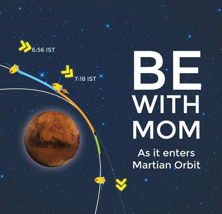 India's First Mars Mission MOM Meets Mars on Sept. 23/24 – Watch Arrival Live