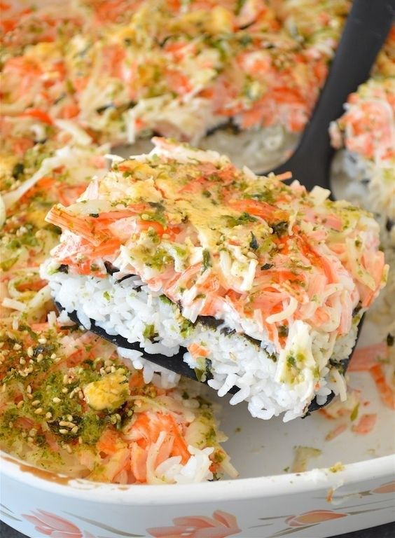Sushi Bake | 17 Sushi-Food Hybrids That Will Make You Question Everything