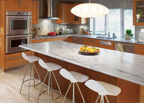 Only your contractor knows for sure: Formica Ideal Edge mimics expensive stone & solid surface countertops with laminate