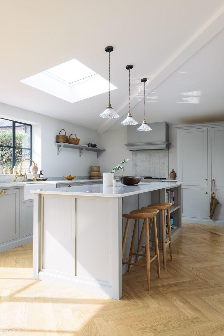 Shaker kitchen brochure devol kitchens - A Beautifully Serene Shaker Kitchen By Devol