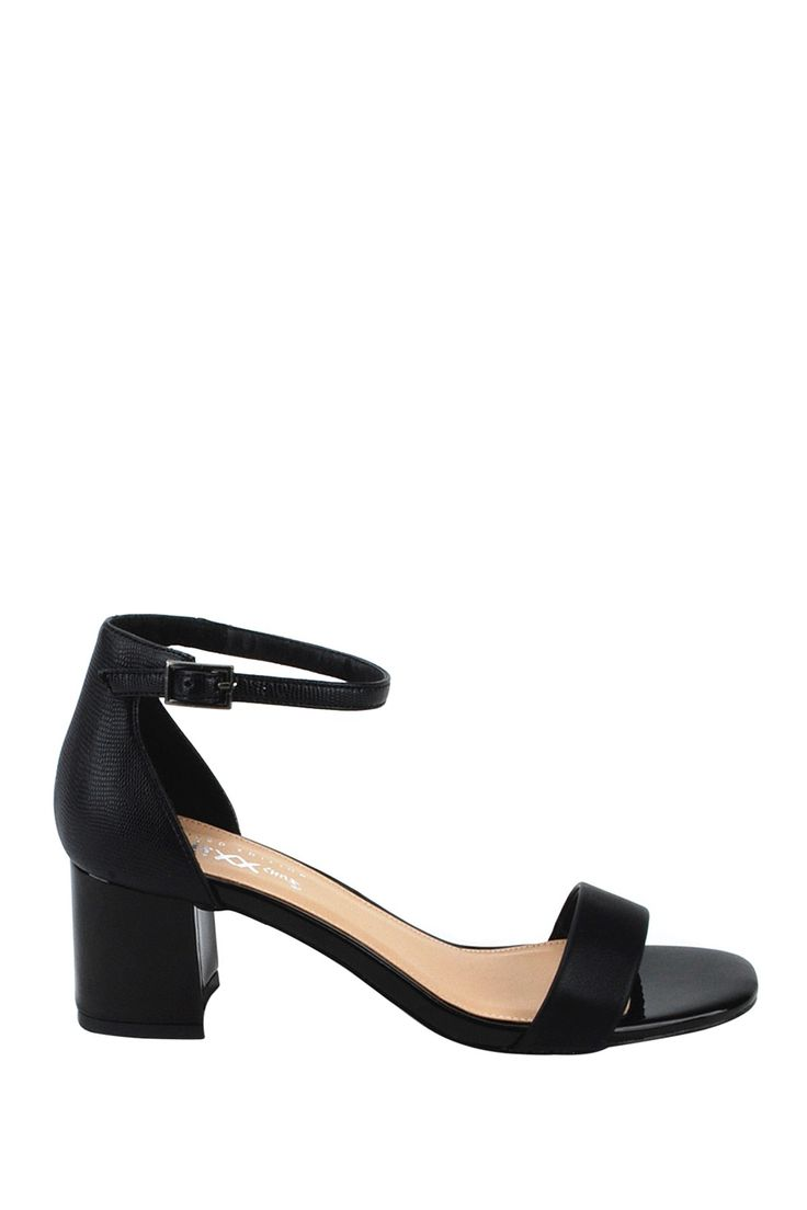 Thick Heel Ankle Strap