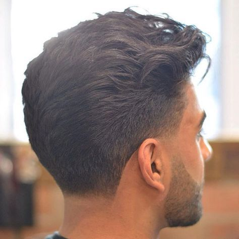 Low Taper Fade with Beard