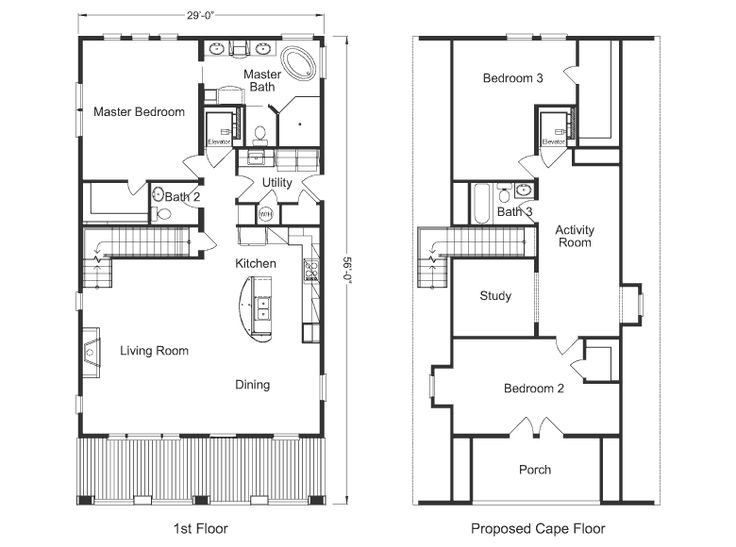 Shops with living quarters plans pictures to pin on for Metal garage with living quarters floor plans