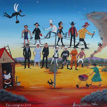 Howard Steer - Everybody's On Line
