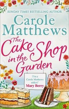 Book Review and Giveaway : The Cake Shop in the Garden by Carole Matthews | Jera's Jamboree