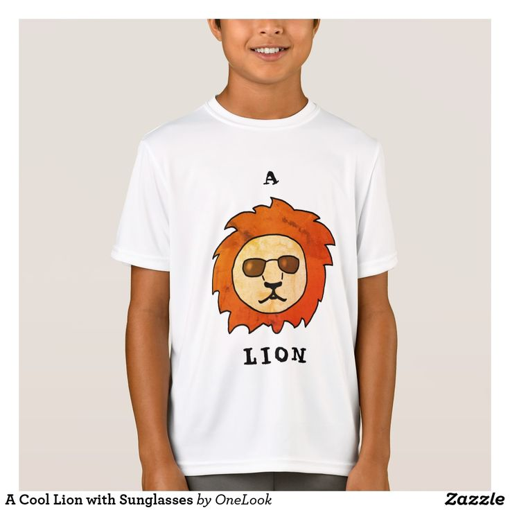A Cool Lion with Sunglasses