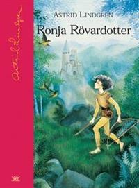 """Ronja Rövardotter -  Astrid Lindgren """"Den natten då Ronja föddes gick åskan över bergen, ja, det var en åsknatt så att allt oknytt som höll till i Mattisskogen förskrämt kröp undan i sina hålor och gömslen. Bara de grymma vildvittrorna gillade åskväder mer än alla andra väder och flög med tjut och skrik runt rövarborgen på Mattisberget."""""""