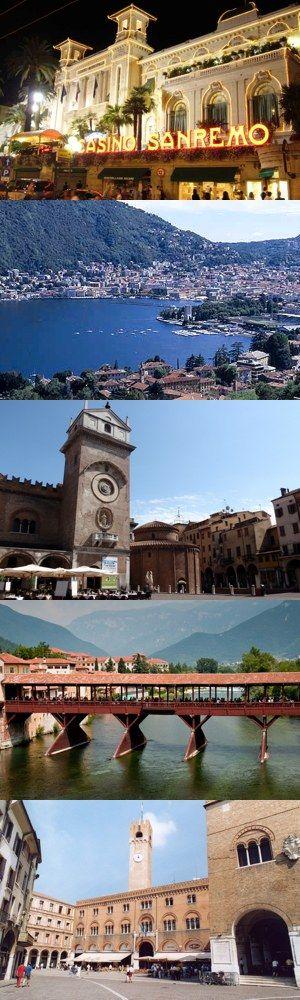 Cinque piccole città da visitare nell'Italia del nord