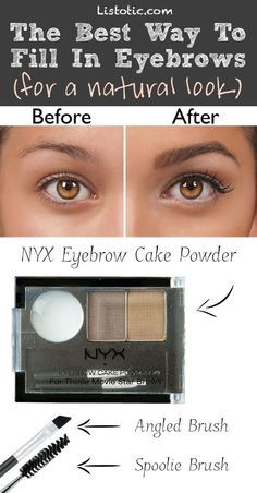 #8. Filling in eyebrows excessively... Here's how to FIX it! | 20 Beauty Mistakes You Didn't Know You Were Making .