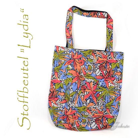 Stoff, Stofftasche, Plastik vermeiden, nähen, Tasche, Shopper, 12monate12taschen