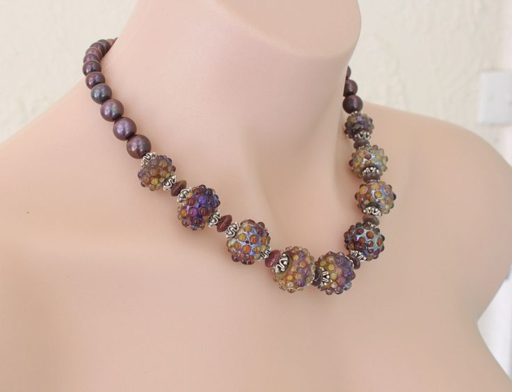 artisan lampwork beads and jewelry by