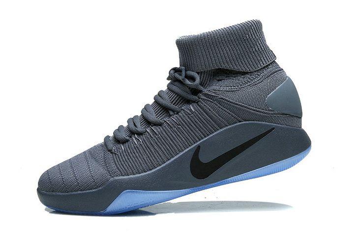 Free Shipping Only 69$ Nike Hyperdunk 2016 Elite Flyknit Cool Grey