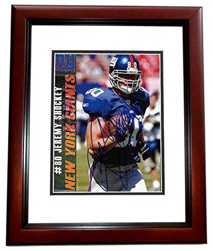 Jeremy Shockey New York Giants Autographs