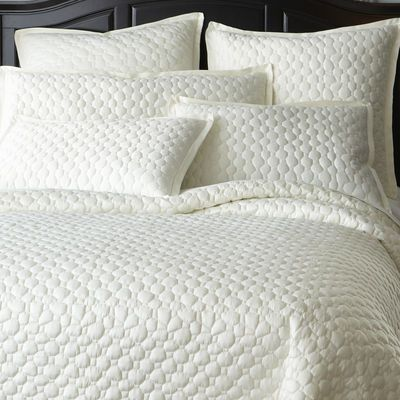 Lennox Bedding -Pier One...I know you said you wanted a duvet but this is very lovely.....and worth the price which as far as linen's go is very reasonable.  Maybe Q could buy and you could pay him half as your contribution?