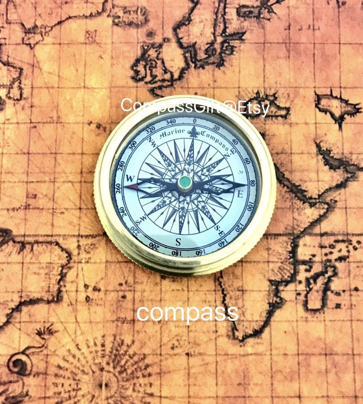 Marine  Brass Pocket Compass with Leather Case - Brass pocket compass - Christmas Gift by CompassGifts on Etsy https://www.etsy.com/uk/listing/555335006/marine-brass-pocket-compass-with-leather