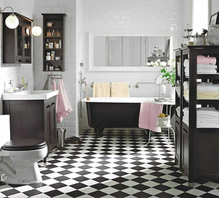 Łazienka w stylu... no właśnie? Jak urządzić łazienkę? 25 łazienek od nowoczesnej po retro - łazienka aranżacje - -Urzadzamy.pl