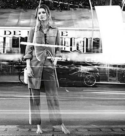 Gisele Bündchen w kampanii Chanel wiosna-lato 2015, fot. Karl Lagerfeld