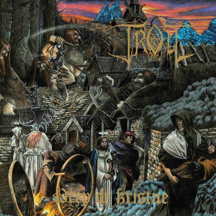 Drep de Kristne. Troll. Damnation, 1996, CD.