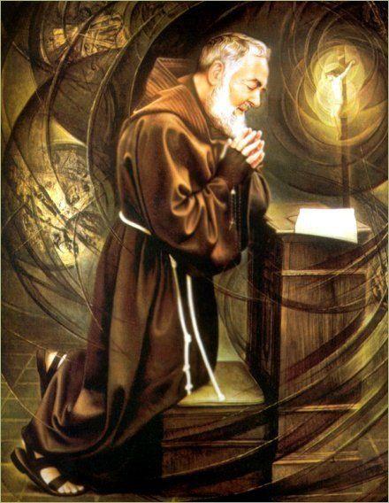 Saint Padre Pio, pray for us.