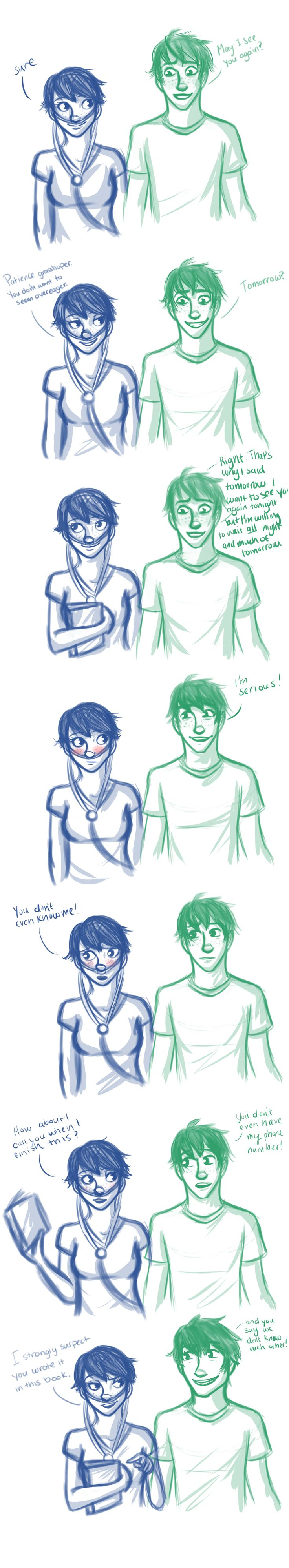 Hazel and Augustus <3