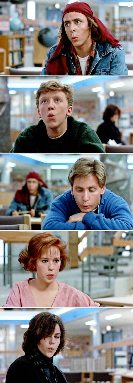 the whistling song will be in your head all day...you're welcome =) The Breakfast Club