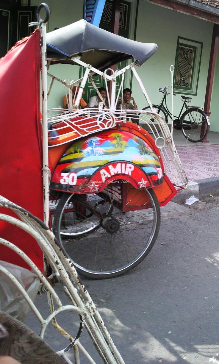 #becak #Yogyakarta #Indonesia