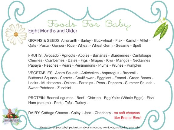 Introducing Solids to Your 8 month to 10 month old Baby, Solid Food Charts for 8 to 10 Months old - Introducing Baby to Meats, Spices, Fruits, Vegetables and Meat